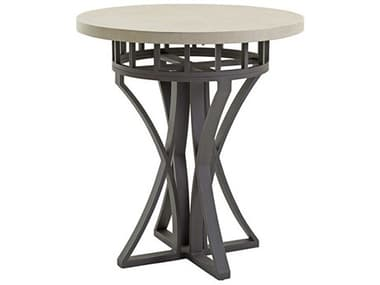 Tommy Bahama Outdoor Cypress Point Ocean Terrace 38'' Round High/Low (Counter or Bar) Table with Weatherstone Top TR3900873