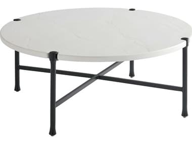 Tommy Bahama Outdoor Pavlova Aluminum 44'' Wide Round Coffee Table TR3910943