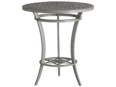 Tommy Bahama Outdoor Silver Sands Aluminum 38'' Wide Round High / Low Bistro Table TR3945873