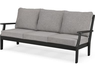 Trex® Outdoor Furniture™ Furniture Yacht Club Deep Seating Recycled Plastic Sofa TRXTX4513