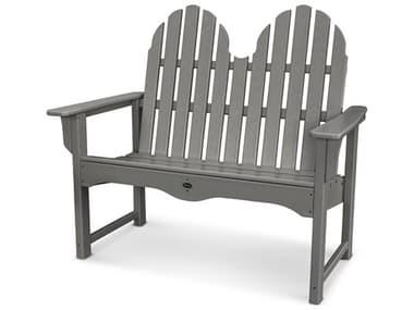 Trex® Outdoor Furniture™ Cape Cod Recycled Plastic 48'' Adirondack Bench TRXTXADBN