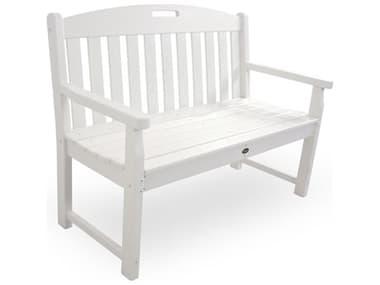 Trex® Outdoor Furniture™ Yacht Club Recycled Plastic 48'' Bench TRXTXB48