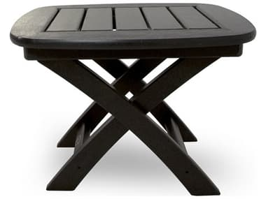 Trex® Outdoor Furniture™ Yacht Club Recycled Plastic 21''W x 18''D Rectangular End Table TRXTXNST