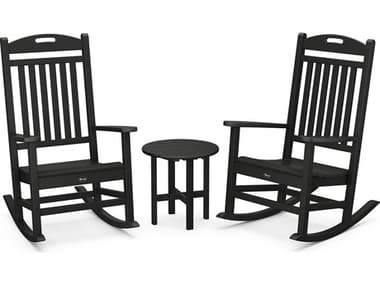 Trex® Outdoor Furniture™ Yacht Club Recycled Plastic 3 Piece Lounge Set TRXTXS1001