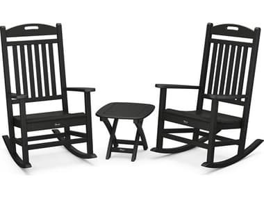 Trex® Outdoor Furniture™ Yacht Club Recycled Plastic 3 Piece Lounge Set TRXTXS1211