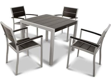 Trex® Outdoor Furniture™ Surf City Aluminum 5 Piece Dining Set TRXTXS1251