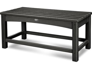 Trex® Outdoor Furniture™ Rockport Recycled Plastic 35''W x 17''D Rectangular Coffee Table TRXTXT1836