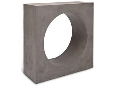 Urbia Outdoor Avva Dark Grey 36'' Wide Concrete Rectangular Console Table UROVGSAVVACON