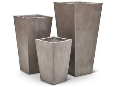 Urbia Outdoor Konus Dark Grey Planter (Set of 3) UROVGSKONUPLANTE