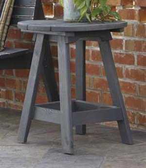 Uwharrie Chair Original Wood 22 Round End Table UW1041