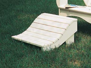 Uwharrie Chair Plantation Series Wood Ottoman UW3021
