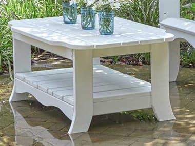 Uwharrie Chair Annaliese Wood 41 x 26.5 Rectangular Coffee Table UWA030