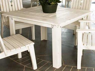 Uwharrie Chair Behren Wood 48 x 42 Rectangular Dining Table UWB092