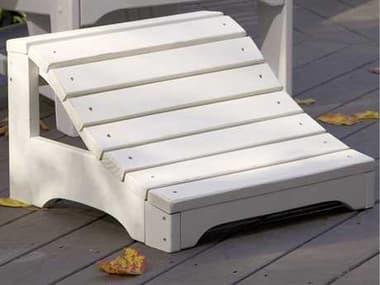 Uwharrie Chair Carolina Preserves Wood Ottoman UWC021