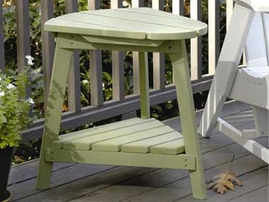 Uwharrie Chair Carolina Preserves Wood 22 x 21.5 End Table UWC040