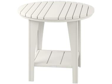Uwharrie Chair Jarrett Bay Wood 36'' Wide Round Bar Table UWJB63