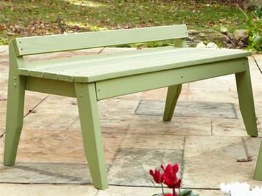 Uwharrie Chair Plaza Wood 2-Seat Bench UWP097