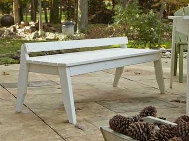 Uwharrie Chair Plaza Wood 3-Seat Bench UWP098