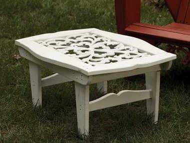 Uwharrie Chair Veranda Wood 39 x 26 Rectangular Coffee Table UWV030