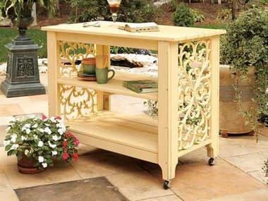 Uwharrie Chair Veranda Wood Serving Cart UWV090