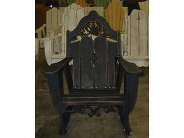 Uwharrie Chair Veranda Wood Rocker Arm Lounge Chair UWV112