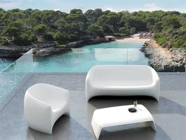 Vondom Outdoor Blow White Matte Lounge Set VOD55016WHITESET