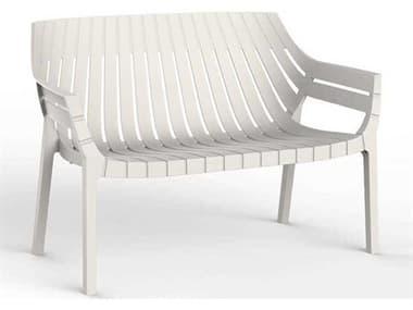 Vondom Outdoor Spritz Ecru Matte Resin Sofa (Set of 4) VOD56025ECRU