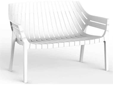 Vondom Outdoor Spritz White Matte Resin Sofa (Set of 4) VOD56025WHITE