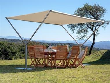 Woodline Shade Solutions Sky 13.1' x 10' Rectangular Crank Lift Pavilion WDLSKY34RESSSD