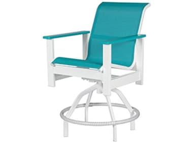 Windward Design Group Kingston Sling Mgp Swivel Balcony Chair WINW4238