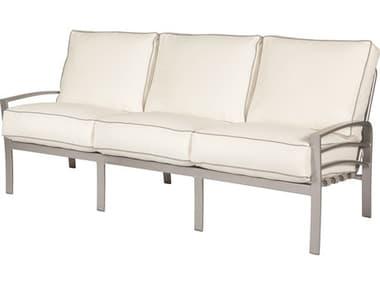Windward Design Group Skyway Deep Seating Aluminum Cushion Sofa WINW61355