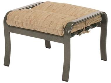 Windward Design Group Sonata Cushion Aluminum Ottoman WINW6415