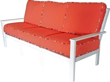 Windward Design Group Sanibel Sectional Marine Grade Polymer Sofa WINW87355