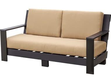 Wildridge Contemporary Recycled Plastic Deep Seating Sofa WLRLCC305