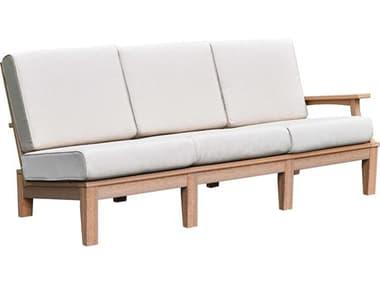 Wildridge Granville Recycled Plastic Deep Seating Left Arm Sofa with Cushion WLRLCC654L
