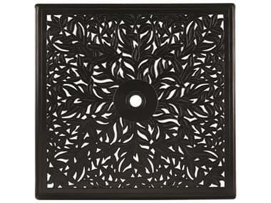 Woodard Cast Aluminum Napa 36'' Wide Square Table Top with Umbrella Hole WR03137