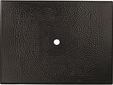 Woodard Cast Aluminum Hammered 48''W x 36''D Rectangular Table Top WR05345