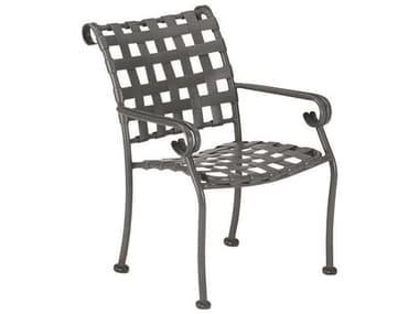 Woodard Ramsgate Aluminum Stackable Dining Arm Chair WR160417