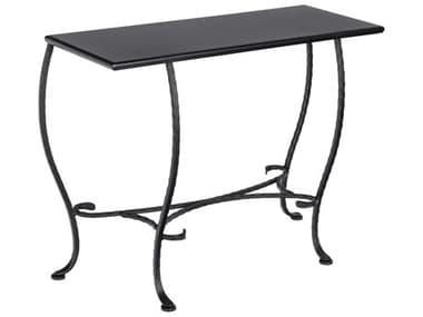 Woodard Wrought Iron 38''W x 16''D Rectangular Sofa Table WR190232