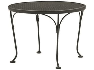 WoodardWrought Iron Mesh 24'' Wide Round End Table WR190244