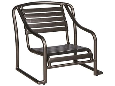 Woodard Baja Strap Aluminum Stackable Sand Lounge Chair WR230450
