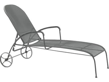 Woodard Valencia Wrought Iron Adjustable Chaise Lounge WR310070