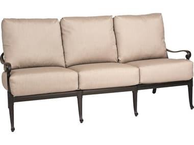 Woodard Wiltshire Cast Aluminum Sofa WR4Q0420