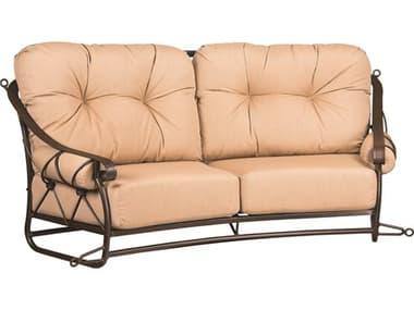 Woodard Derby Cushion Wrought Iron Swing WR4T0179