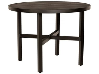 Woodard Tri-slat Tables 48'' Wide Aluminum Round Counter Table WR4V550002648