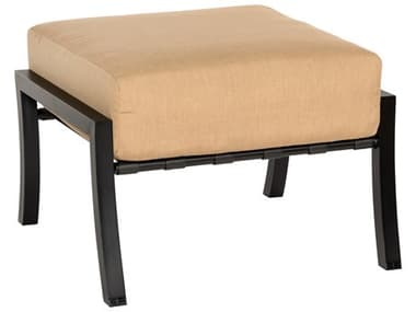 Woodard Cortland Cushion Aluminum Ottoman WR4Z0486