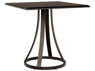 Woodard Solid Cast Tables 36'' Wide Aluminum Square Counter Table WR5Y550009236