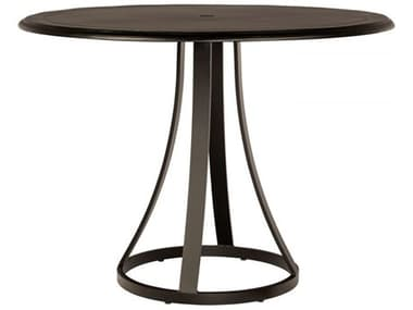 Woodard Solid Cast Tables 48'' Wide Aluminum Round Counter Table WR5Y550009248