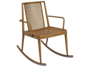 Woodard Parc Aluminum Rocker Dining Arm Chair WR680013