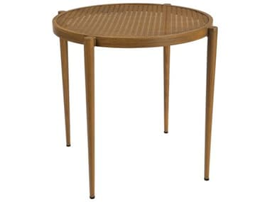 Woodard Parc Aluminum 29'' Wide Round Bistro Table WR680026